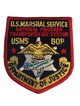 U.S. MARSHALS SERVICE PRISONER TRANSPORRT PATCH