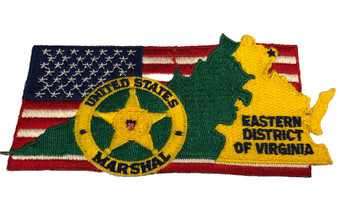 U.S. MARSHALS SERVICE EASTERN VIRGINIA PATCH