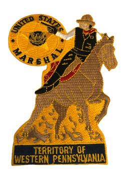 U.S. MARSHALS SERVICE WESTERN PENNSYLVANIA PATCH