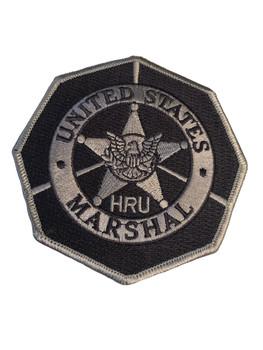 U.S. MARSHALS SERVICE HRU PATCH BLUE