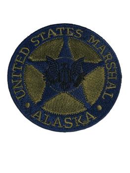 U.S. MARSHALS SERVICE ALASKA PATCH