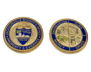 JSO PROPERTY & EVIDENCE COIN
