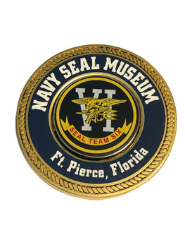 NAVY SEAL MUSEUM LEGENDS COIN