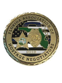 FL ASSOC. OF HOSTAGE NEGOTIATORS COIN