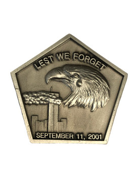 911 LEAST WE FORGET COIN