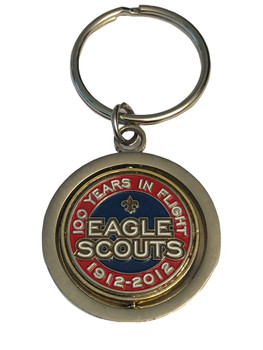 EAGLE SCOUTS 100 YEARS KEYTAG