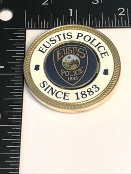 EUSTIS FL POLICE COIN