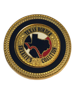 TEXAS BORDER SHERIFFS COALITION BALL MARKER COIN