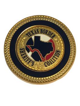 TEXAS BORDER SHERIFFS COALITION BALL MARKER COIN