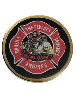 CITRUS CTY FL FIRE & RESCUE COIN