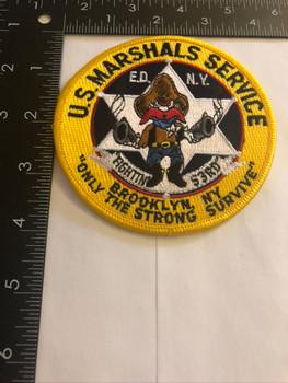 U.S. MARSHALS SERVICE BROOKLYN PATCH SM
