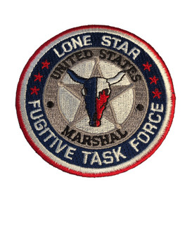 U.S. MARSHALS SERVICE LONE STAR TASK FORCE PATCH