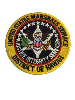U.S. MARSHALS SERVICE HAWAII PATCH