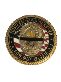 FALLEN OFFICER COIN