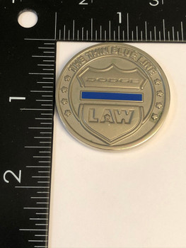 DODGE LAW POLICE WEEK COIN