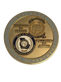 VALDOSTA GA POLICE COIN