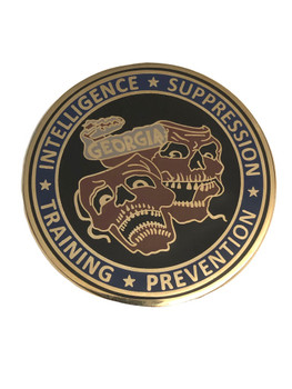 GEORGIA GANG INVESTIGATOR'S ASSOC COIN