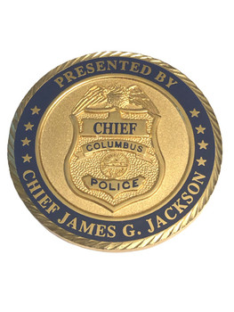 COLUMBUS OH POLICE COIN