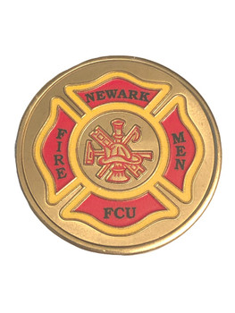 NEWARK NJ FIRE DEPT COIN