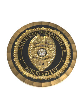 GROVETOWN GA PUBLIC SAFETY COIN