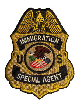 U.S. IMMIGRATION SPECIAL AGENT PATCH