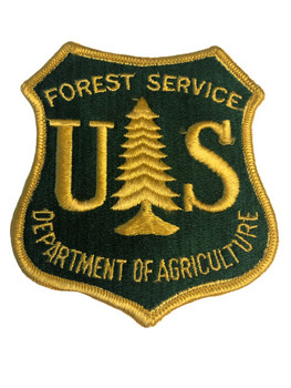DEPT. OF AGRICULTURE FOREST SERVICE PATCH