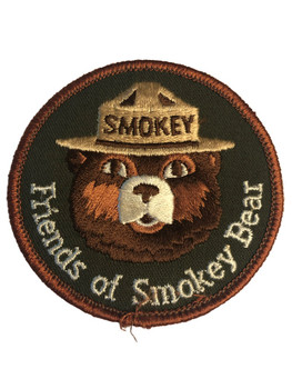 FRIENDS OF SMOKEY THE BEAR PATCH