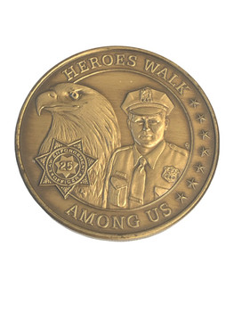 HEROES WALK AMONG US COIN