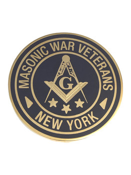 MASONIC WAR VETERANS NY COIN