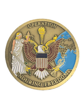 OPERATION ENDURING FREEDOM COIN