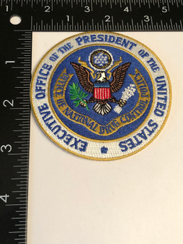 OFFICE OF THE PRESIDENT DRUG CZAR PATCH
