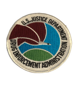 US DEPARTMENT OF DRUG ENFORCEMENT ADMINISTRATION PATCH