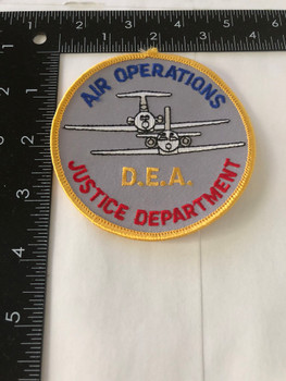 DEA AIR OPERATIONS POLICE PATCH