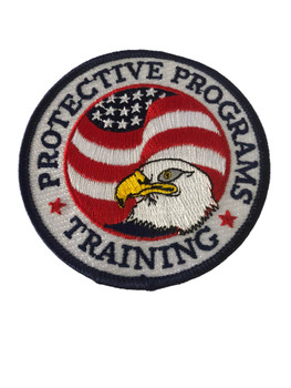 DEA PROTECTIVE PROGRAMS TRAINING POLICE PATCH