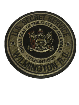 U.S. SECRET SERVICE POLICE PATCH
