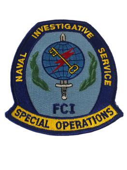 NAVAL INVESTIGATIVE SERVICE FCI POLICE PATCH