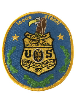 GPO INSPECTOR GENERAL LOCUS STAND POLICE PATCH