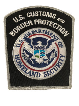U.S. CUSTOMS & BORDER PROTECTION POLICE PATCH