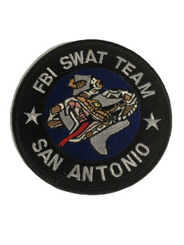 FBI SAN ANTONIO SWAT POLICE PATCH
