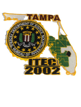 FBI TAMPA POLICE PATCH 2002