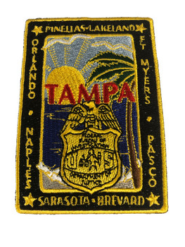 FBI TAMPA POLICE PATCH