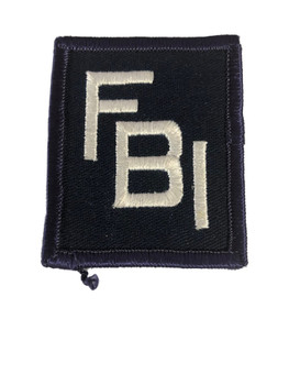 FBI POLICE PATCH
