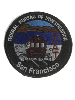 FBI SAN FRANCISCO POLICE PATCH