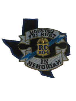 FBI  HOUSTON SWAT POLICE PATCH