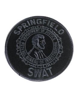 FBI SPRINGFIELD SWAT POLICE PATCH