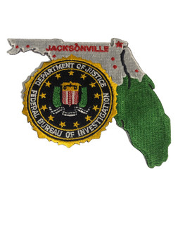 FBI JACKSONVILLE POLICE PATCH