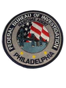 FBI PHILADELPHIA POLICE PATCH