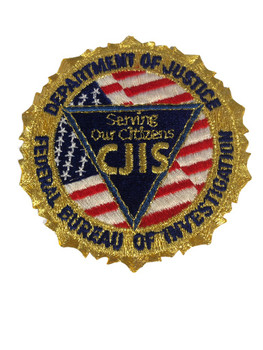 FBI CJIS POLICE PATCH