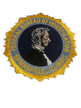 FBI SPRINGFIELD ABE POLICE PATCH