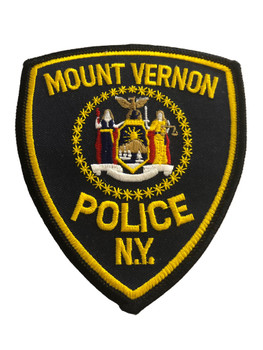 MOUNT VERNON NY POLICE PATCH